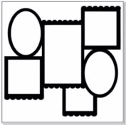 12 x 12 fluted frames sold in 1\'s